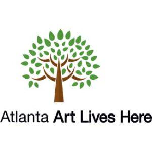 Atlanta Art Lives Here logo