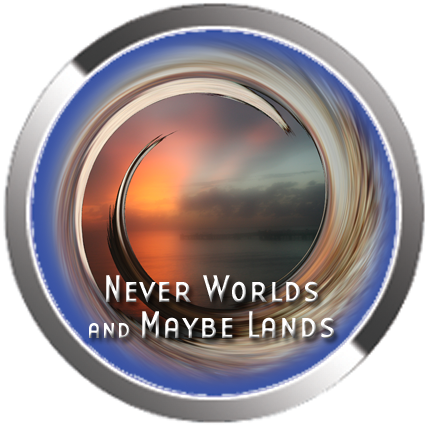 Never Worlds and Maybe Lands artwork