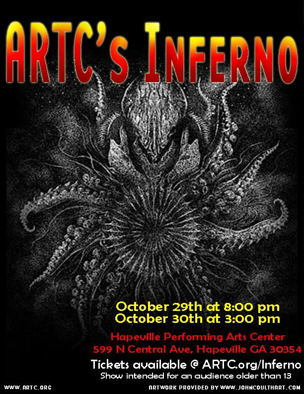 ARTC's Inferno artwork